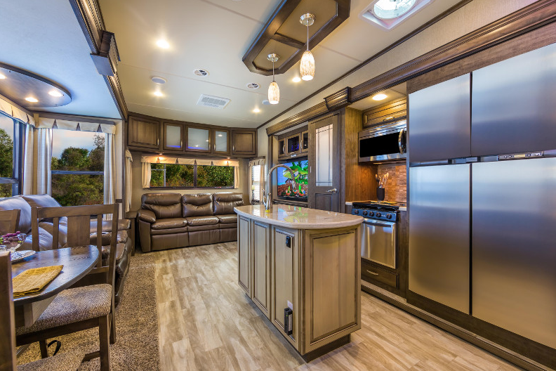 Grand Design RV Solitude Interior