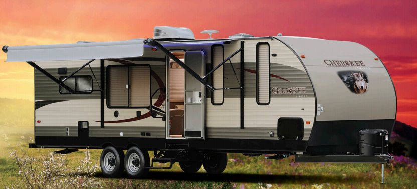 Cherokee Destination Trailer Exterior