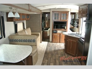 Keystone RV Premier Ultra Lite Travel Trailer Bedroom