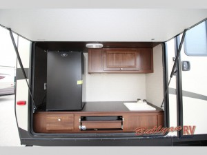 Keystone RV Premier Ultra Lite Travel Trailer outdoor kitchen