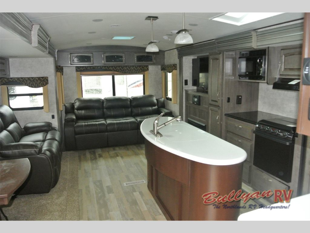 Winnebago Ultralite Travel Trailer Rear Sofa