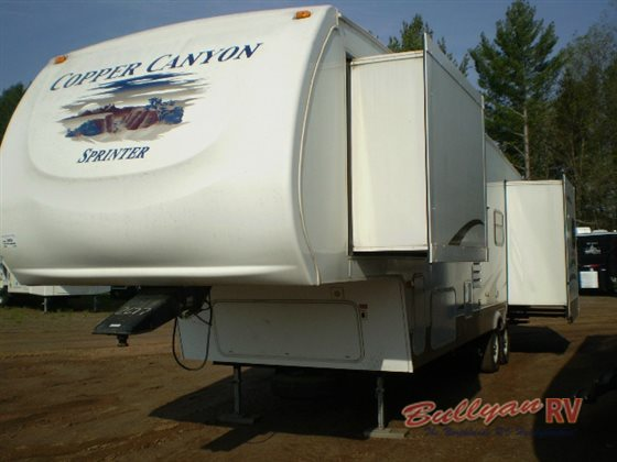2008 Keystone Sprinter Copper Canyon Used Fifth Wheel 18995