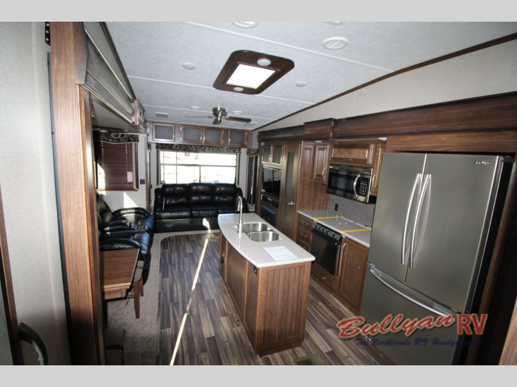 Keystone Montana High Country Fifth Wheel Kitchen