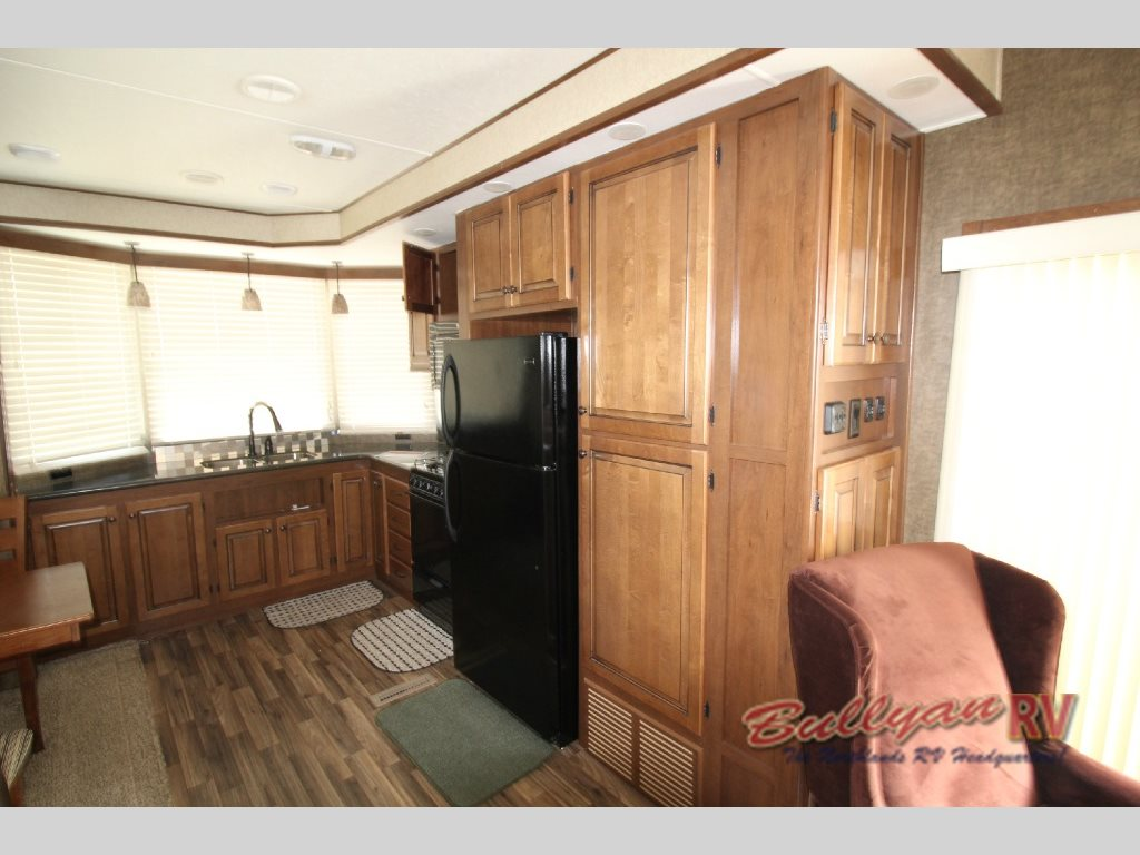 Heartland Fairfield Destination Trailer Kitchen
