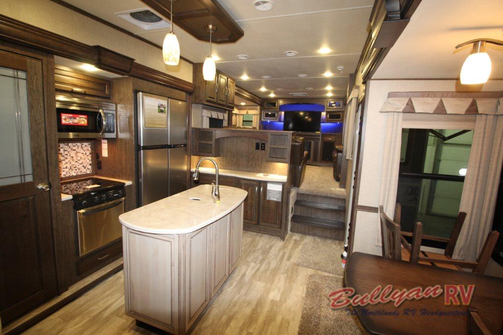 Grand Design Solitude 375fl Fifth Wheel Floorplan Five