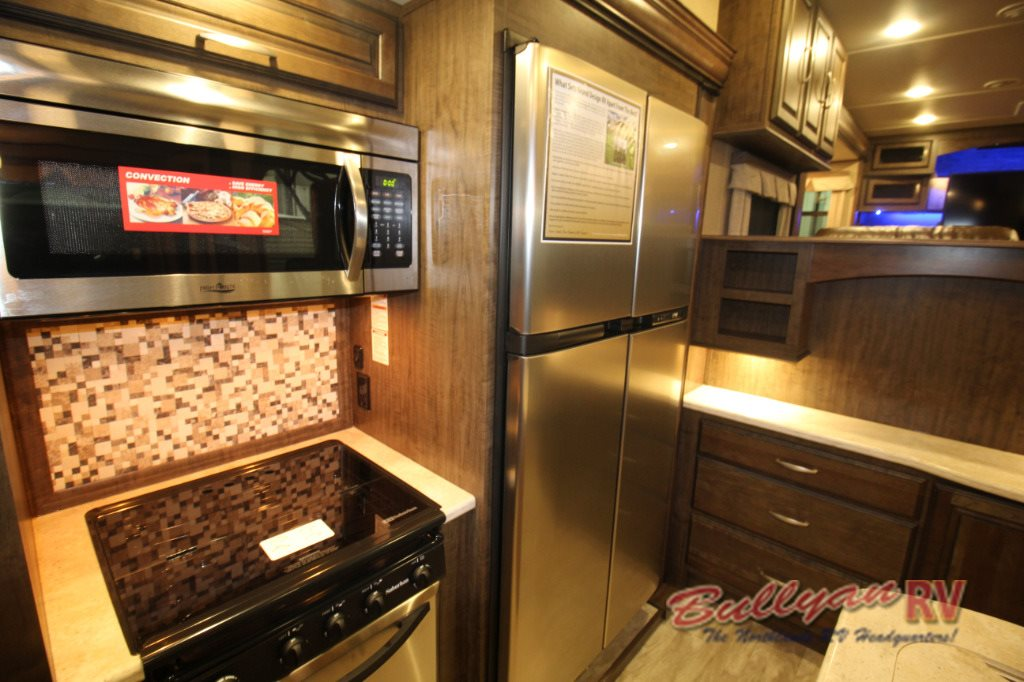 Grand Design Solitude 379FL Fifth Wheel Kitchen