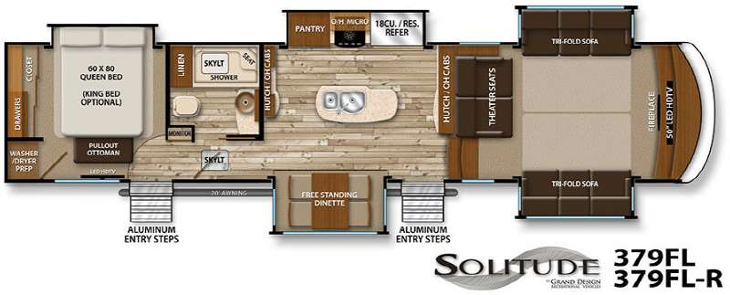 Grand Design Solitude 379FL Fifth Wheel