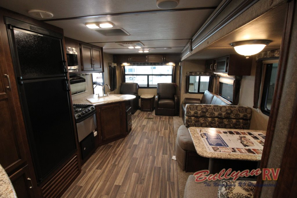 Keystone Outback Ultra-Lite Travel Trailer Interior
