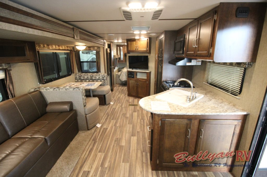 Keystone Outback Ultra-Lite Travel Trailer Living Area