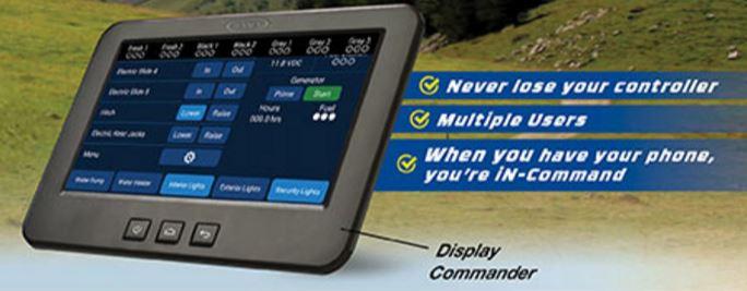 Keystone in command control panel
