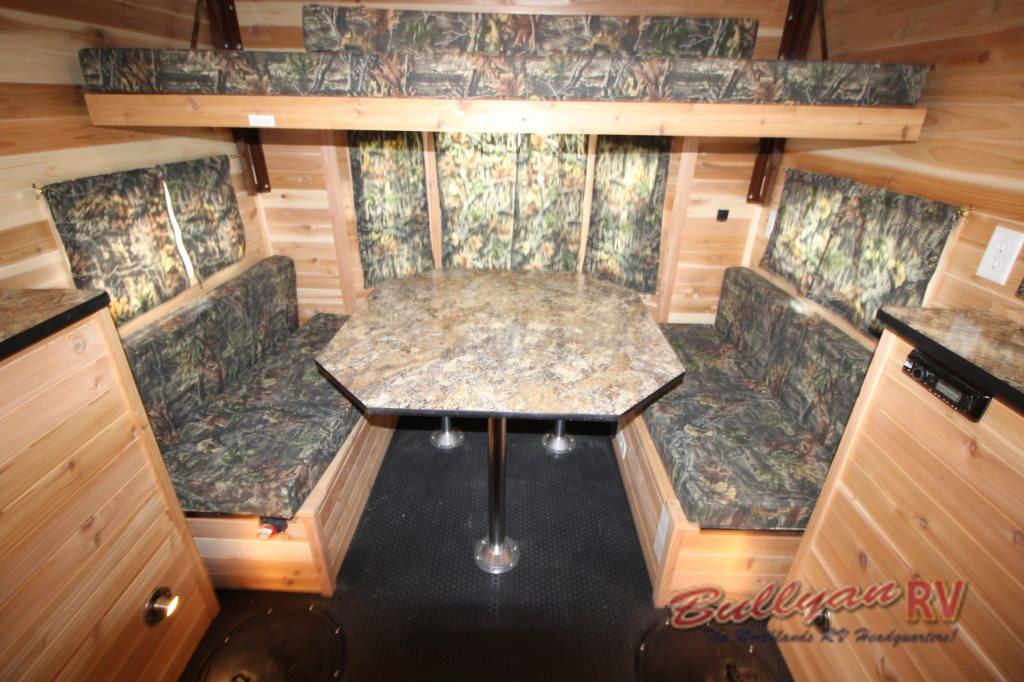 Ice Castle Fish House dining table