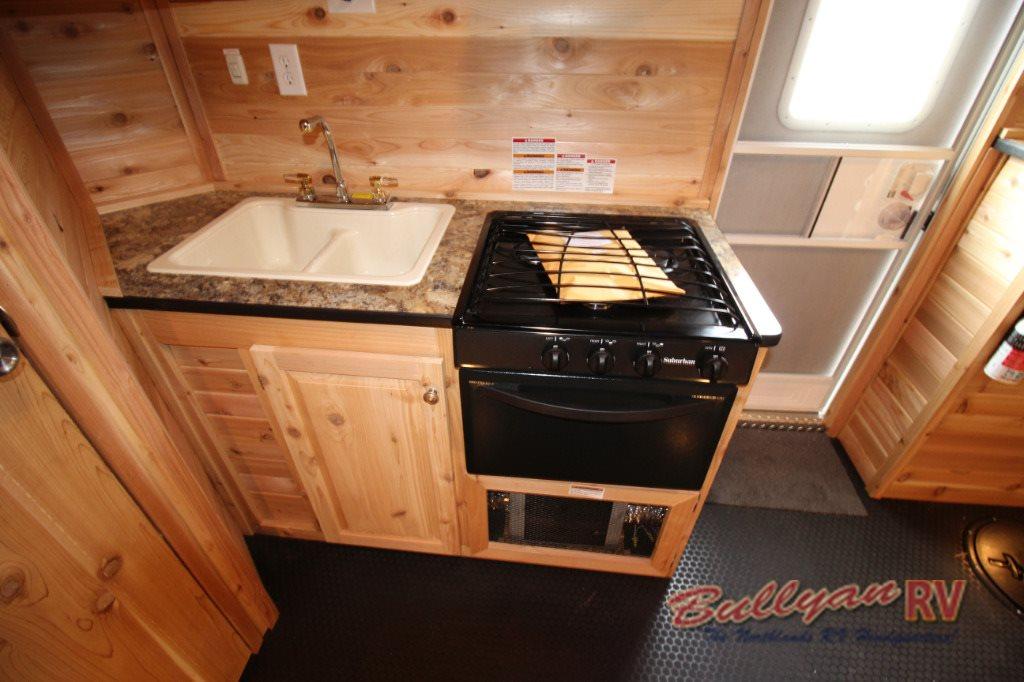 ice castle fish house kitchen