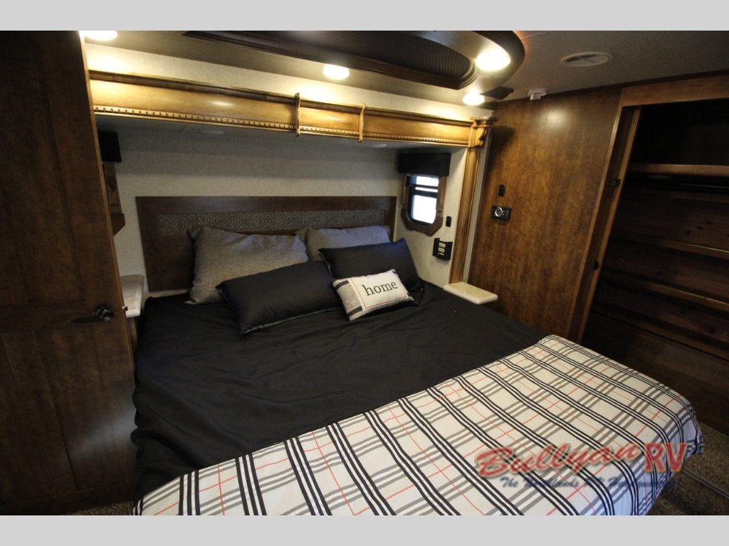 Heartland Landmark 365 Orlando Fifth Wheel Master Bedroom