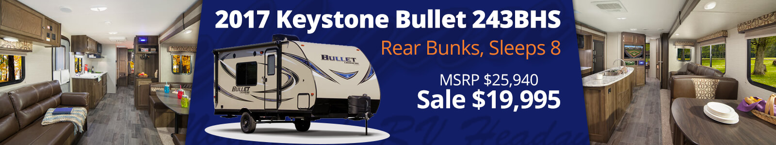 Keystone Bullet 243BHS Travel Trailer