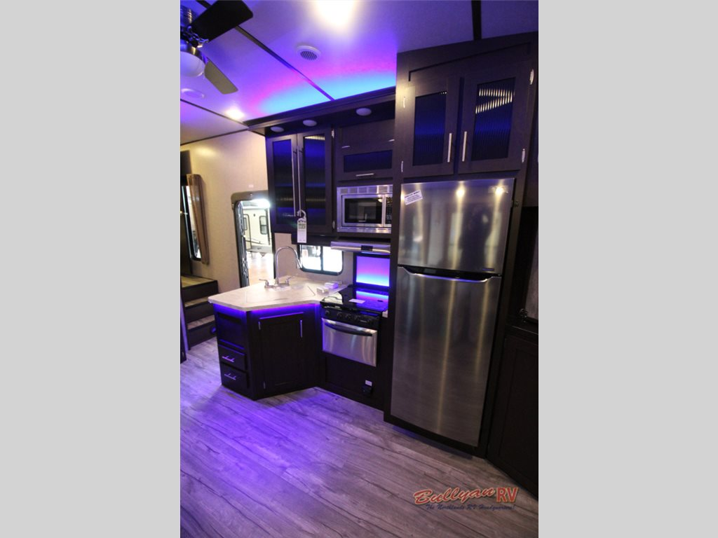 2017 Forest River Cherokee Arctic Wolf 265DBH8 fifth wheel Kitchen