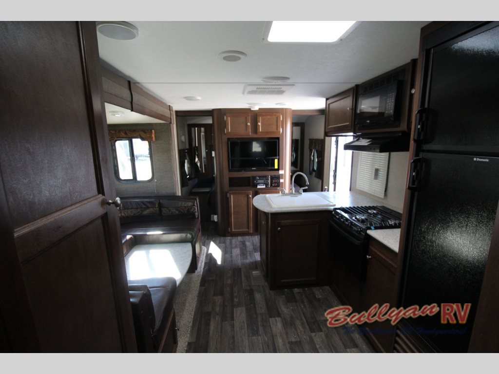 Keystone Bullet 243BHS Travel Trailer Interior