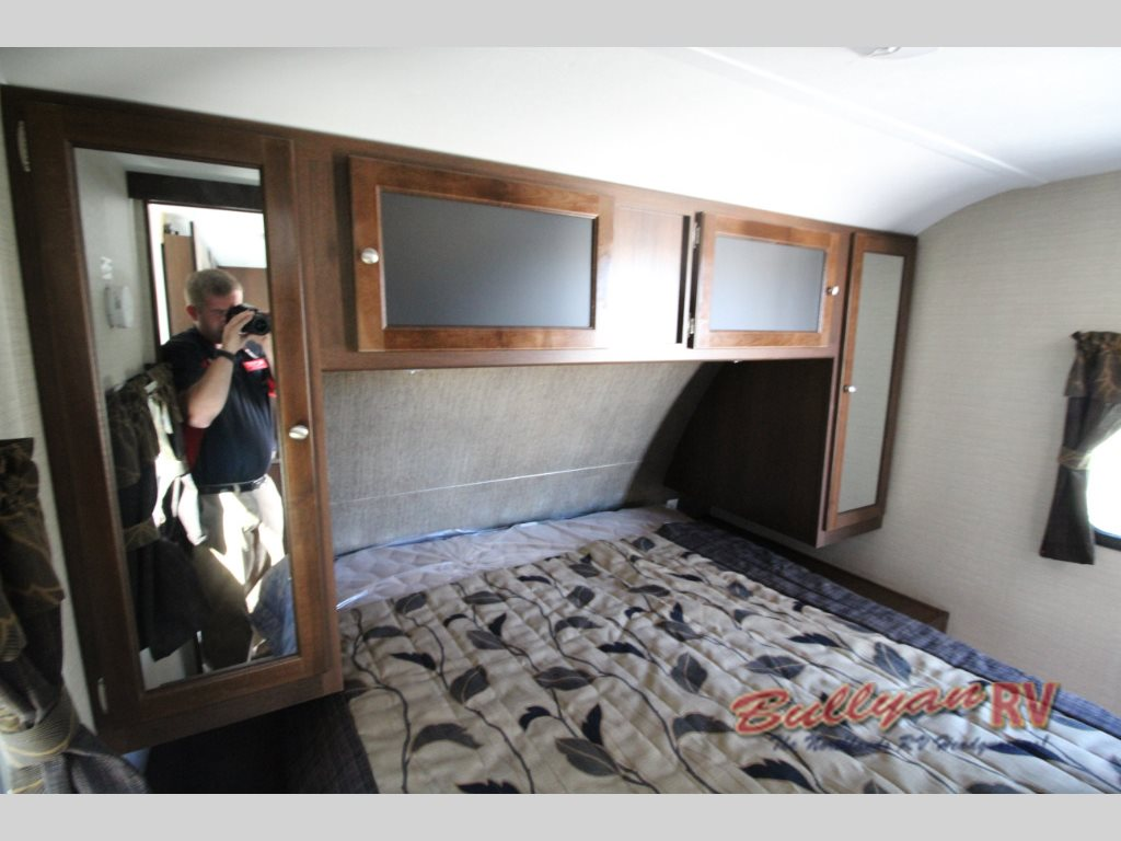Keystone Bullet 243BHS Travel Trailer Master Bedroom