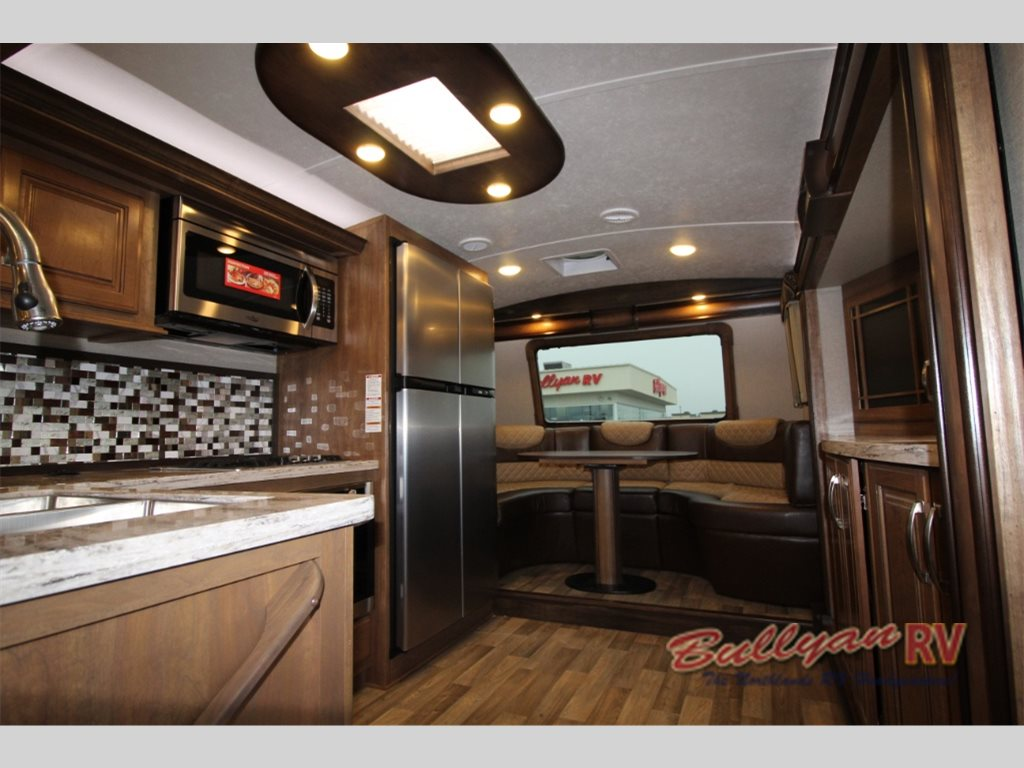 Keystone Montana Fifth Wheel Front Kitchen