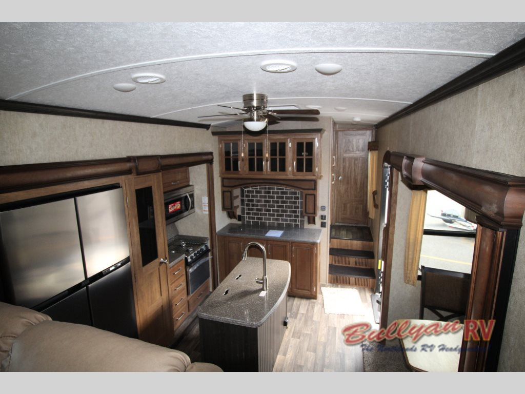 Keystone Montana Fifth Wheel Kitchen