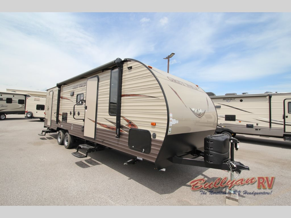 Forest River Cherokee Grey Wolf 26DBH Travel Trailer