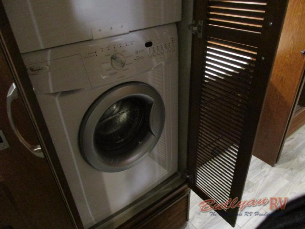 Dynamax DX3 Class C Diesel Motorhome Bedroom Washer