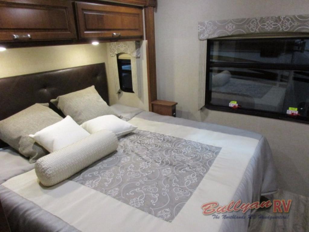 Dynamax DX3 Class C Diesel Motorhome Bedroom