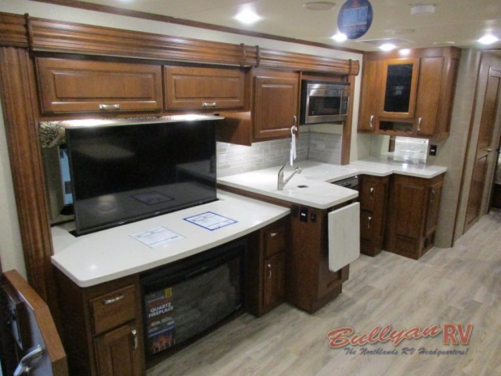 Dynamax DX3 Class C Diesel Motorhome Kitchen