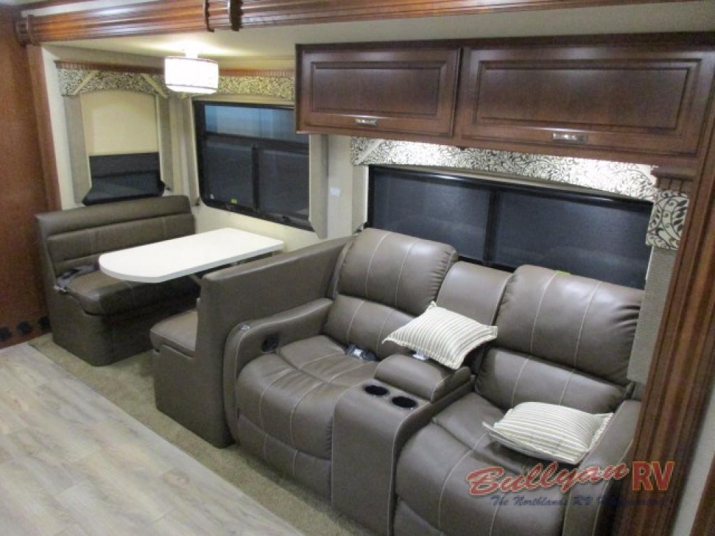 Dynamax DX3 Class C Diesel Motorhome Seating
