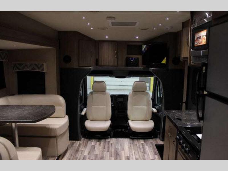 Dynamax Isata 3 Diesel Class C Motorhome Living Area