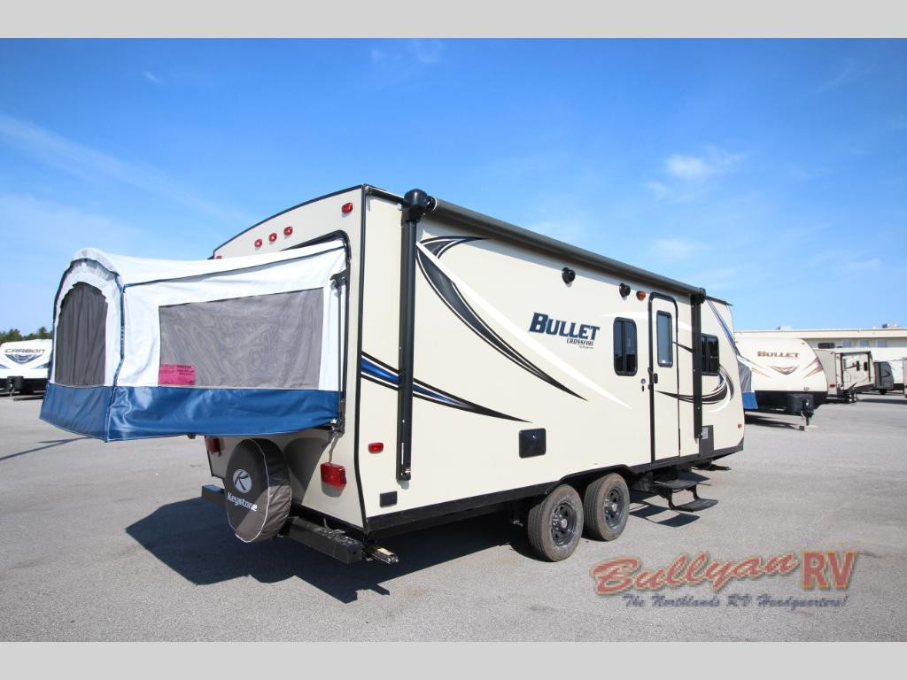 Keystone Bullet Crossfire Travel Trailer Expandable
