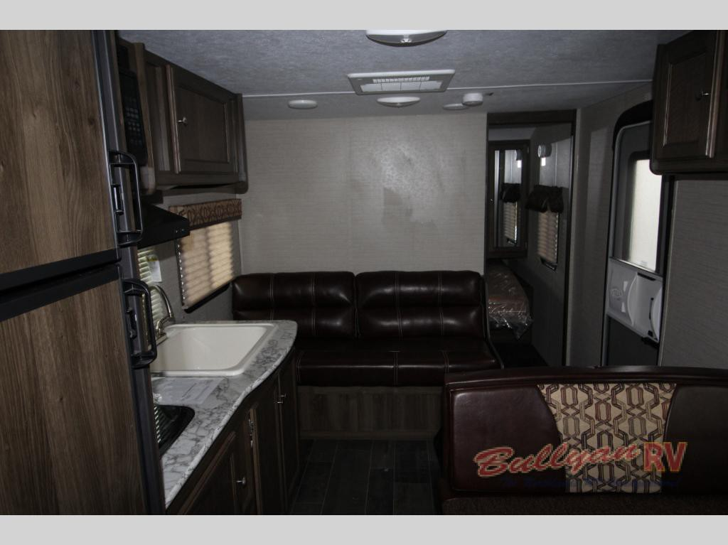 Keystone Bullet Crossfire Travel Trailer Interior