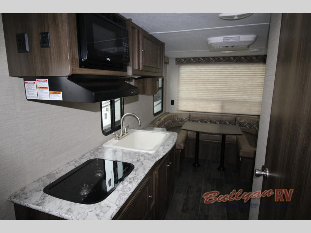 Keystone Bullet Crossfire Travel Trailer U shaped Dinette