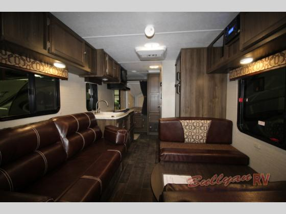 Keystone Bullet Crossfire 1650EX Expandable Travel Trailer Interior