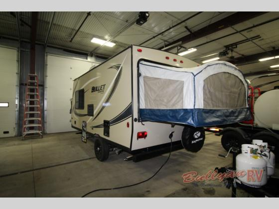 Keystone Bullet Crossfire 1650EX Expandable Travel Trailer