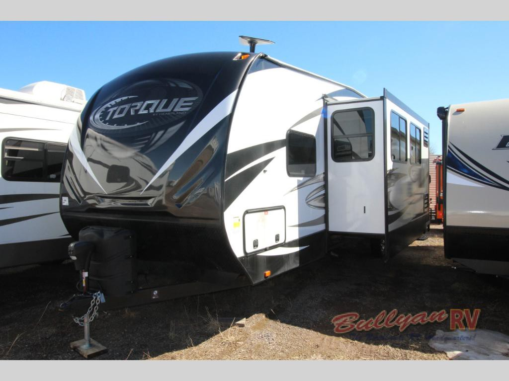 Heartland Torque Toy Hauler Travel Trailer