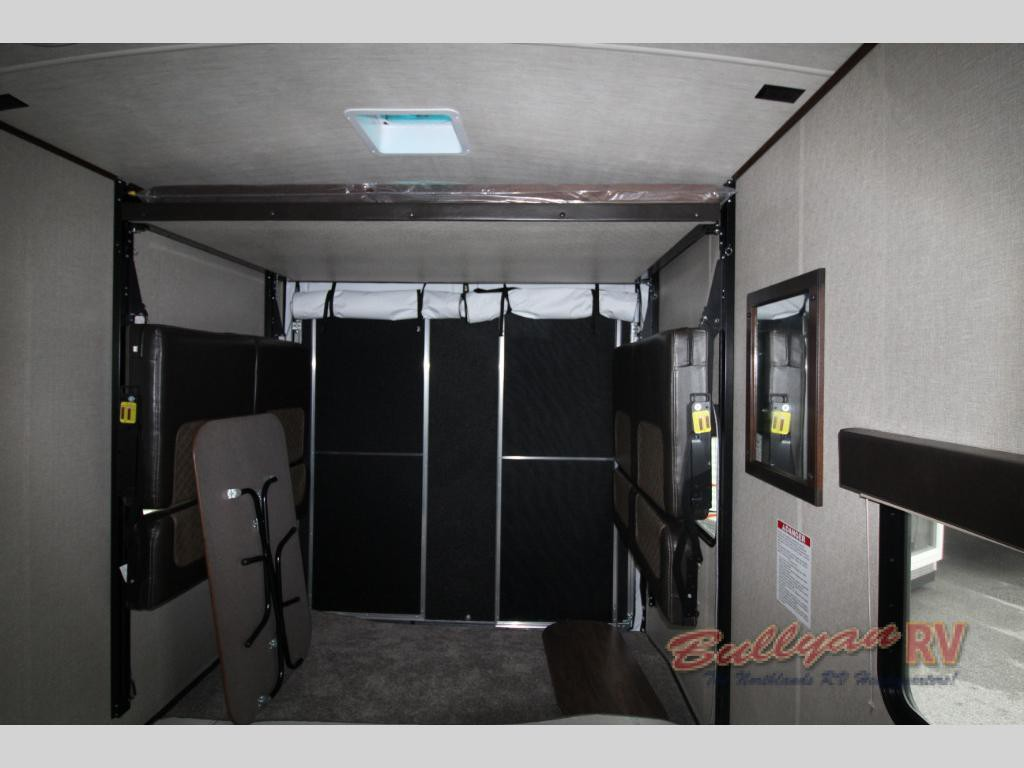 Heartland Torque Toy Hauler Travel Trailer Garage
