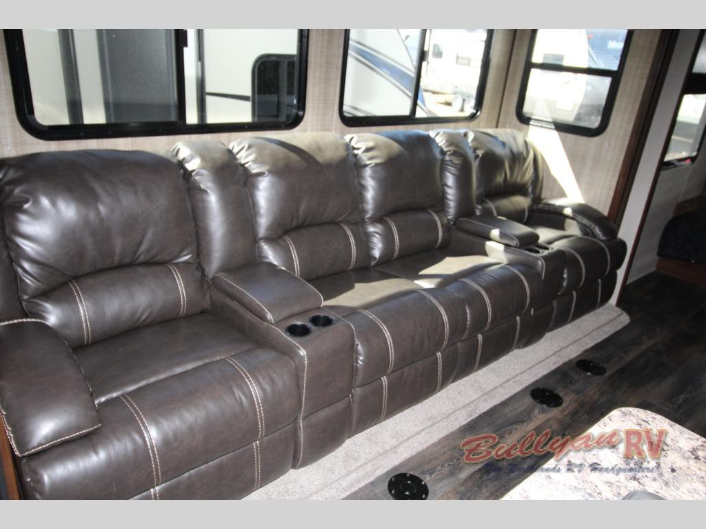 Heartland Torque Toy Hauler Travel Trailer Seating