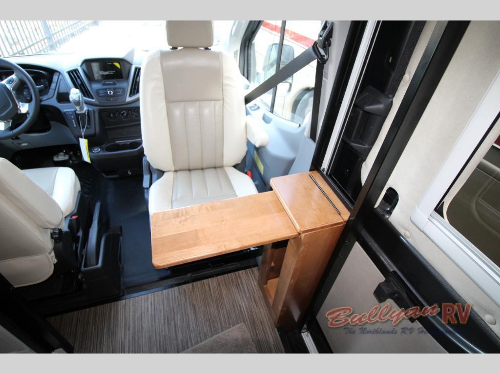 Winnebago Paseo Class B Motorhome Front Seat
