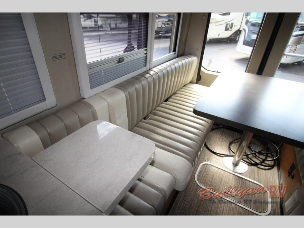 Winnebago Paseo Class B Motorhome Rear Seating