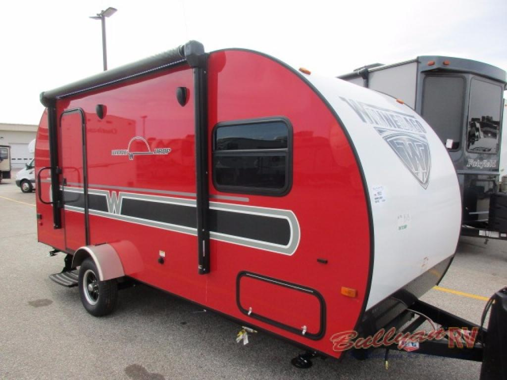 Winnebago Towbles Winnie Drop Travel Trailer Red