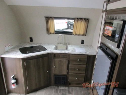 Keystone Colt 171RKCT Travel Trailer Kitchen