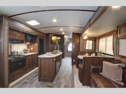 Premier Ultra Lite Travel Trailer Interior