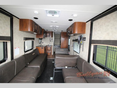 Livin Lite ignite Toy Hauler interior