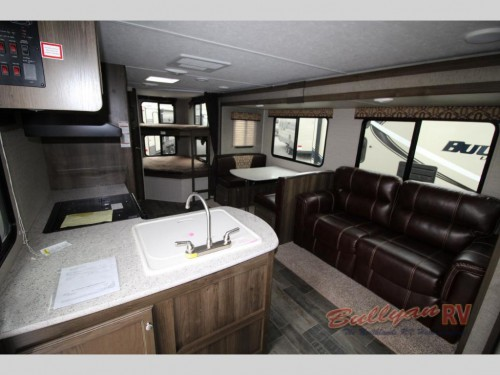 Keystone Bullet 272BHS Travel Trailer Interior