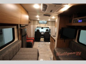 Winnebago Trend Class C Living Room
