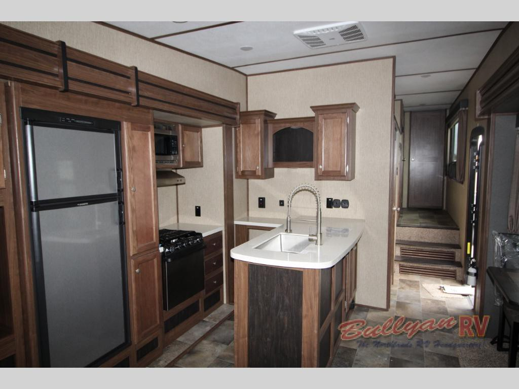 Keystone RV Sprinter Fifth Wheel Kitchen
