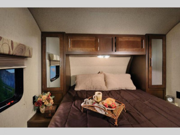 Cherokee travel trailer bedroom