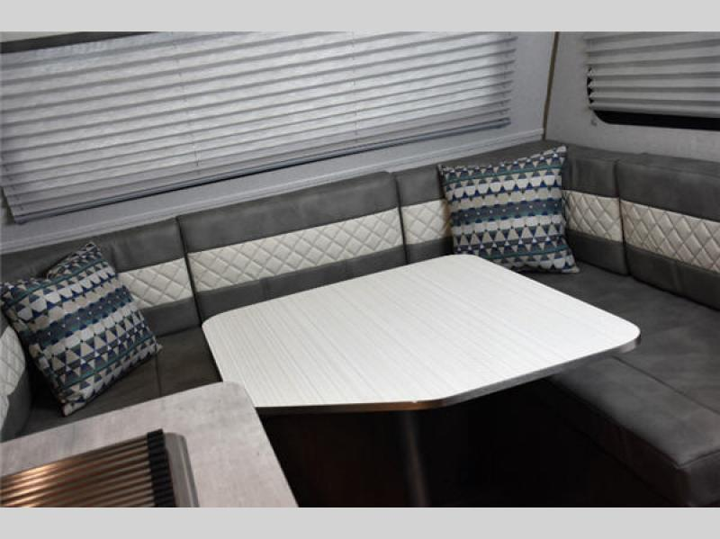 Forest River No Boundaries No Bo Travel Trailer Dinette