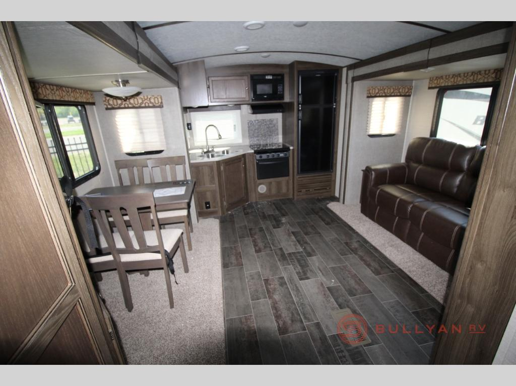 Keystone Premier 24RKPR Travel Trailer Rear Kitchen
