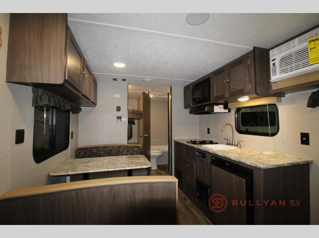 kitchen in 2018 Keystone RV Hideout Single Axle 185LHS